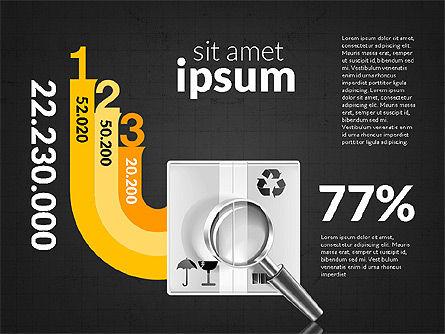 Logistics Infographics, Slide 16, 02842, Infographics — PoweredTemplate.com