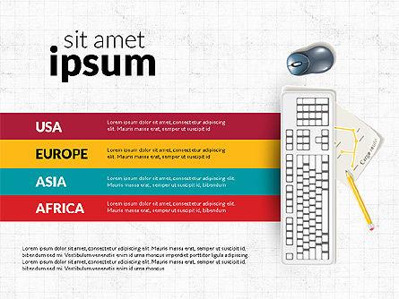 Logistics Infographics, Slide 5, 02842, Infographics — PoweredTemplate.com