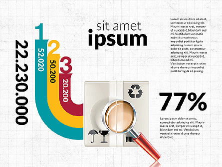 Logistics Infographics, Slide 8, 02842, Infographics — PoweredTemplate.com
