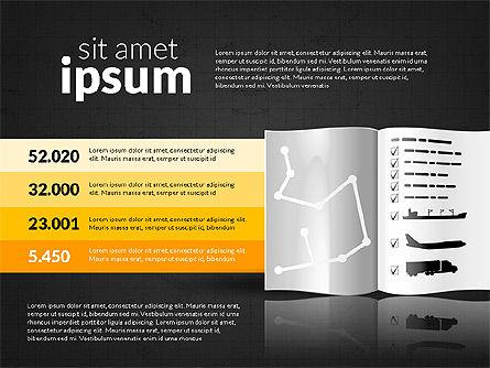 Logistics Infographics, Slide 9, 02842, Infographics — PoweredTemplate.com