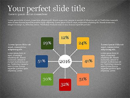 Elegant Flat Designed Presentation Template, Slide 12, 02843, Presentation Templates — PoweredTemplate.com