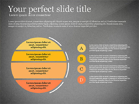 Elegant Flat Designed Presentation Template, Slide 16, 02843, Presentation Templates — PoweredTemplate.com