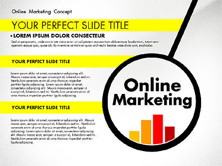 Presentation Templates: Online Marketing Concept #02844