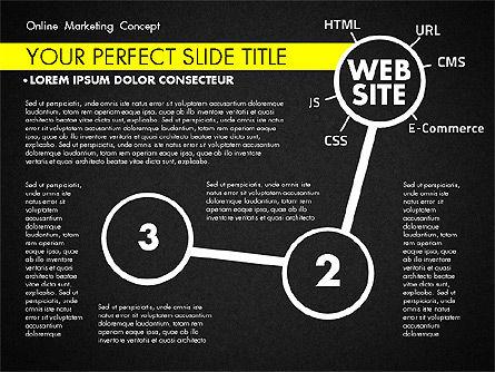 Online Marketing Concept, Slide 10, 02844, Presentation Templates — PoweredTemplate.com