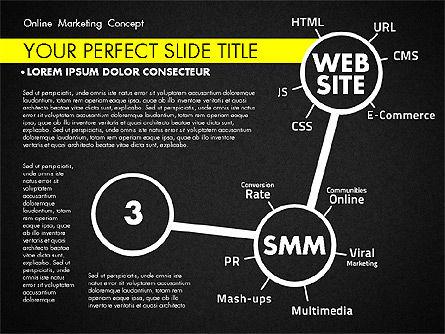 Online Marketing Concept, Slide 11, 02844, Presentation Templates — PoweredTemplate.com
