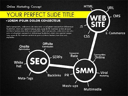 Online Marketing Concept, Slide 12, 02844, Presentation Templates — PoweredTemplate.com