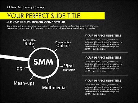Online Marketing Concept, Slide 13, 02844, Presentation Templates — PoweredTemplate.com
