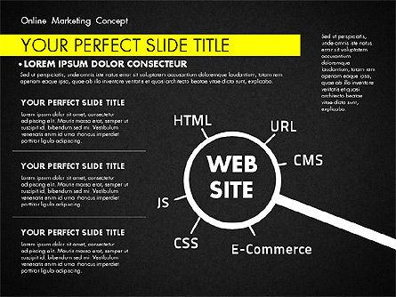 Online Marketing Concept, Slide 14, 02844, Presentation Templates — PoweredTemplate.com