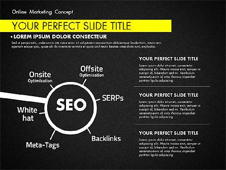 Online Marketing Concept, Slide 15, 02844, Presentation Templates — PoweredTemplate.com