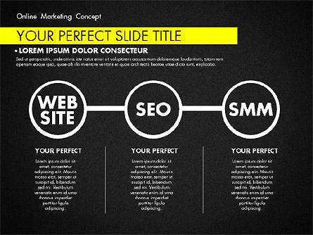 Online Marketing Concept, Slide 16, 02844, Presentation Templates — PoweredTemplate.com