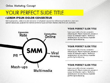 Online Marketing Concept, Slide 5, 02844, Presentation Templates — PoweredTemplate.com