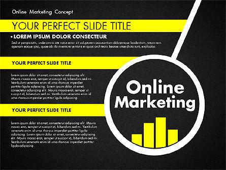 Online Marketing Concept, Slide 9, 02844, Presentation Templates — PoweredTemplate.com
