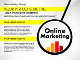 Presentation Templates: Online Marketing Concept #02844