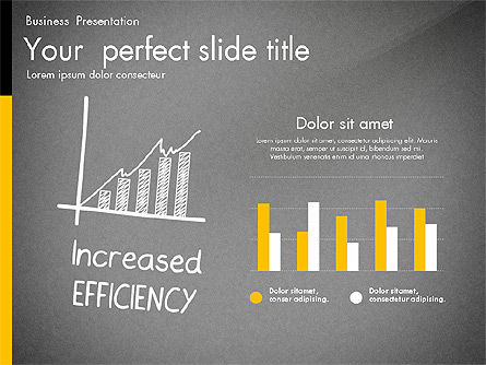 Quality Service Presentation Template, Slide 14, 02846, Data Driven Diagrams and Charts — PoweredTemplate.com