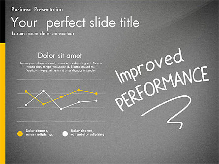 Quality Service Presentation Template, Slide 16, 02846, Data Driven Diagrams and Charts — PoweredTemplate.com