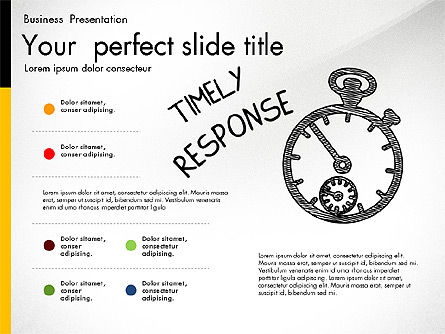 Quality Service Presentation Template, Slide 2, 02846, Data Driven Diagrams and Charts — PoweredTemplate.com