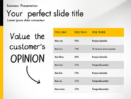 Quality Service Presentation Template, Slide 3, 02846, Data Driven Diagrams and Charts — PoweredTemplate.com