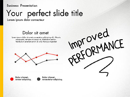 Quality Service Presentation Template, Slide 8, 02846, Data Driven Diagrams and Charts — PoweredTemplate.com