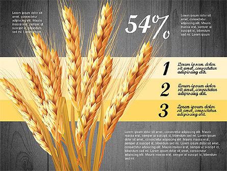Agriculture Infographics Template, Slide 10, 02848, Infographics — PoweredTemplate.com