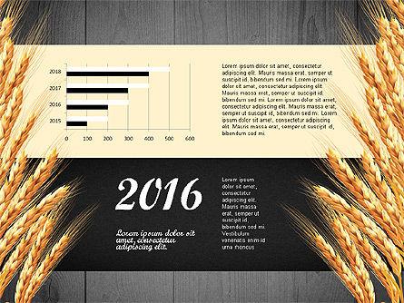 Agriculture Infographics Template, Slide 14, 02848, Infographics — PoweredTemplate.com