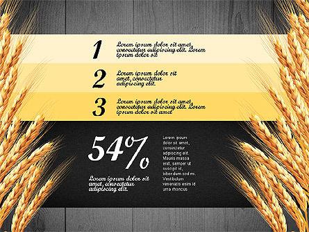 Agriculture Infographics Template, Slide 15, 02848, Infographics — PoweredTemplate.com