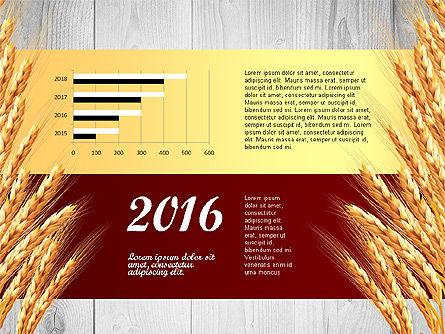 Agriculture Infographics Template, Slide 6, 02848, Infographics — PoweredTemplate.com