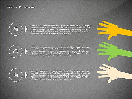 Creative Pitch Deck Presentation Template, Slide 10, 02850, Shapes — PoweredTemplate.com