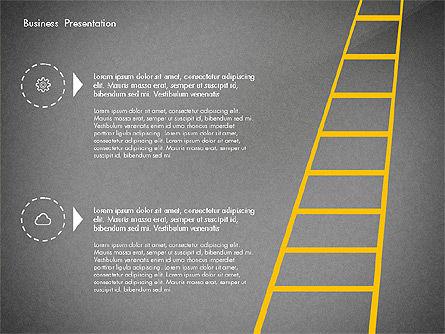 Creative Pitch Deck Presentation Template, Slide 15, 02850, Shapes — PoweredTemplate.com
