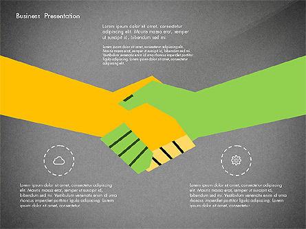 Creative Pitch Deck Presentation Template, Slide 16, 02850, Shapes — PoweredTemplate.com