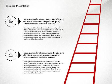 Creative Pitch Deck Presentation Template, Slide 7, 02850, Shapes — PoweredTemplate.com