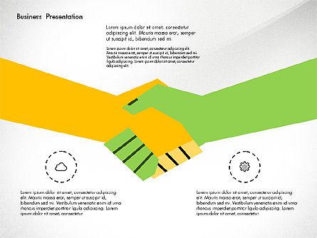 Creative Pitch Deck Presentation Template, Slide 8, 02850, Shapes — PoweredTemplate.com