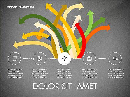 Creative Pitch Deck Presentation Template, Slide 9, 02850, Shapes — PoweredTemplate.com