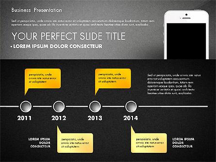 Business Report Presentation Concept, Slide 11, 02851, Presentation Templates — PoweredTemplate.com