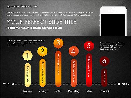 Business Report Presentation Concept, Slide 13, 02851, Presentation Templates — PoweredTemplate.com