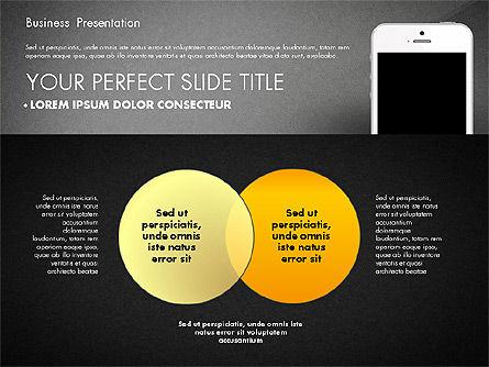 Business Report Presentation Concept, Slide 15, 02851, Presentation Templates — PoweredTemplate.com
