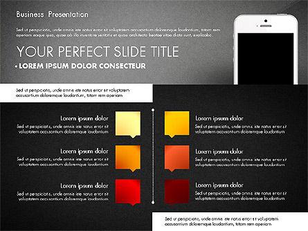 Business Report Presentation Concept, Slide 16, 02851, Presentation Templates — PoweredTemplate.com