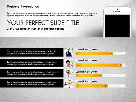 Business Report Presentation Concept, Slide 2, 02851, Presentation Templates — PoweredTemplate.com