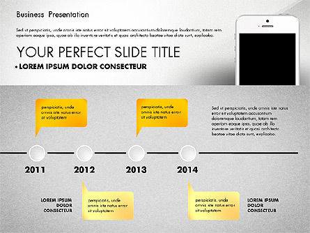 Business Report Presentation Concept, Slide 3, 02851, Presentation Templates — PoweredTemplate.com