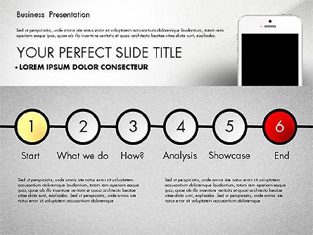 Business Report Presentation Concept, Slide 4, 02851, Presentation Templates — PoweredTemplate.com