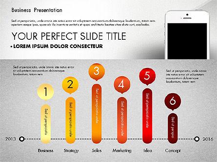 Business Report Presentation Concept, Slide 5, 02851, Presentation Templates — PoweredTemplate.com
