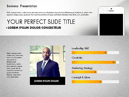Business Report Presentation Concept, Slide 6, 02851, Presentation Templates — PoweredTemplate.com