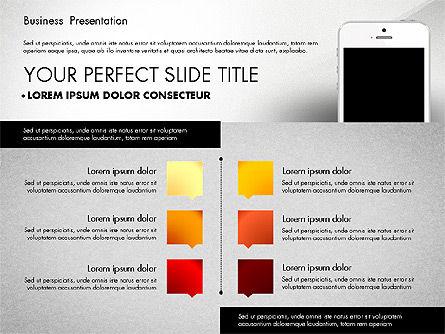 Business Report Presentation Concept, Slide 8, 02851, Presentation Templates — PoweredTemplate.com