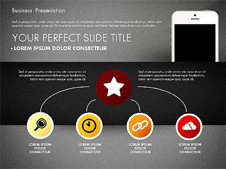 Business Report Presentation Concept, Slide 9, 02851, Presentation Templates — PoweredTemplate.com