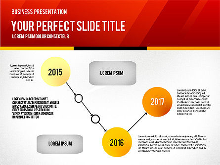 Vivid Business Presentation, 02853, Presentation Templates — PoweredTemplate.com