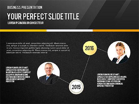 Vivid Business Presentation, Slide 12, 02853, Presentation Templates — PoweredTemplate.com