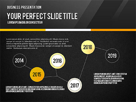 Vivid Business Presentation, Slide 14, 02853, Presentation Templates — PoweredTemplate.com