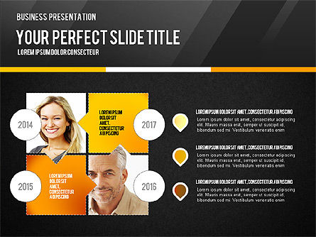 Vivid Business Presentation, Slide 16, 02853, Presentation Templates — PoweredTemplate.com