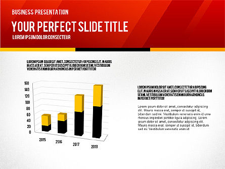 Vivid Business Presentation, Slide 3, 02853, Presentation Templates — PoweredTemplate.com