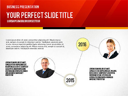 Vivid Business Presentation, Slide 4, 02853, Presentation Templates — PoweredTemplate.com