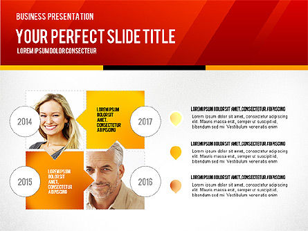Vivid Business Presentation, Slide 8, 02853, Presentation Templates — PoweredTemplate.com